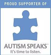 autism speaks logo. puzzle peace